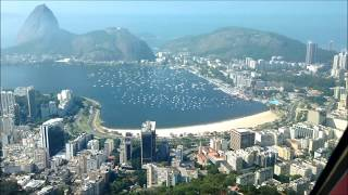 World's most Beautiful Approach? Airbus Visual Approach in Rio