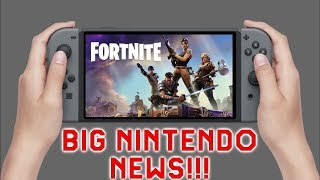 Big Nintendo News: Fortnite Coming To Switch & 4,000 Game Developers Showing Interest in Switch