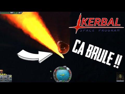 ENTREE DANS L'ATMOSPHERE, CA FINIT BIEN ! - Kerbal Space Program #2