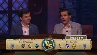 [Hearthstone]Purple vs DPacman - Americas Summer Playoffs Quarterfinal #1