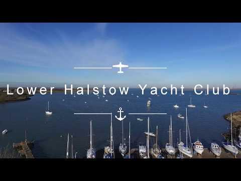 Lower Halstow Yacht Club in Kent
