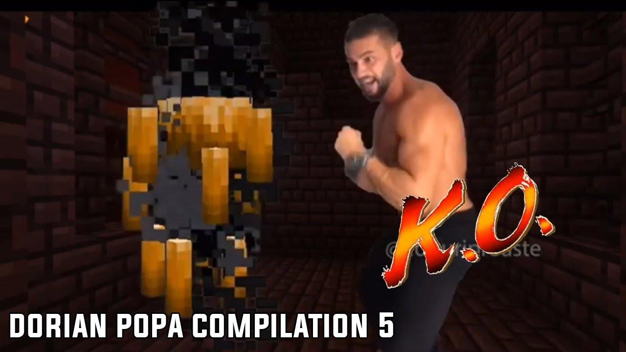 Cele Mai Amuzante Meme-uri Cu Dorian Popa In Minecraft (Dorian Popa Compilation 5)