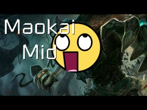 League of Legends - Haunted Maokai Mid - Full Game Commentary with Chris