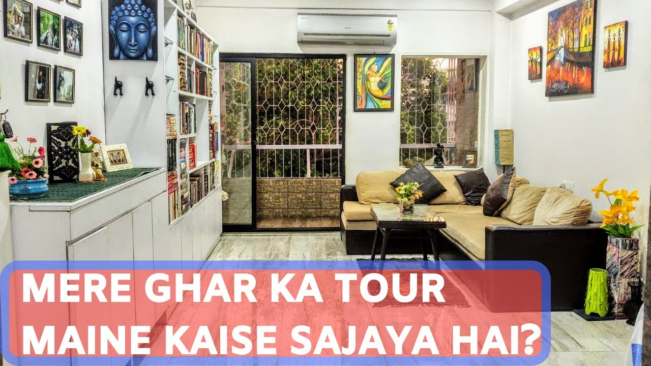 Indian Small House Tour Indian Home Makeover 2019 Interior Design Living Room India À¤¹ À¤¨ À¤¦ À¤® Youtube