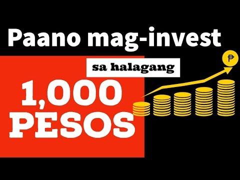 Paano Mag-Invest sa halagang P1,000