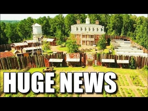 The Walking Dead Studio & Set Tour News & Information - See The Sets & Studio of TWD
