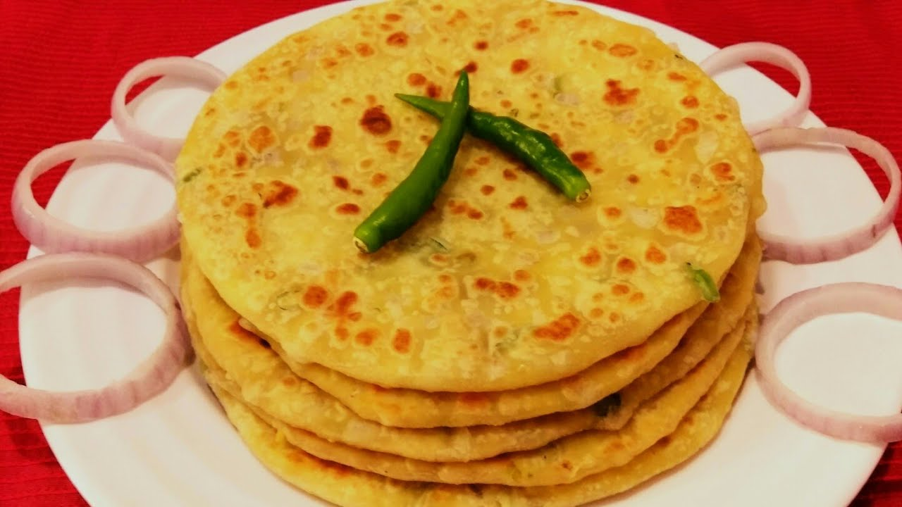 delicious paratha