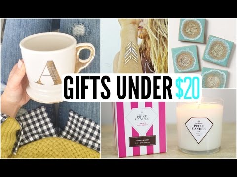 Last Minute Gifts for Her Under $20 & Last Minute Gifts for Her Under $20 - YouTube