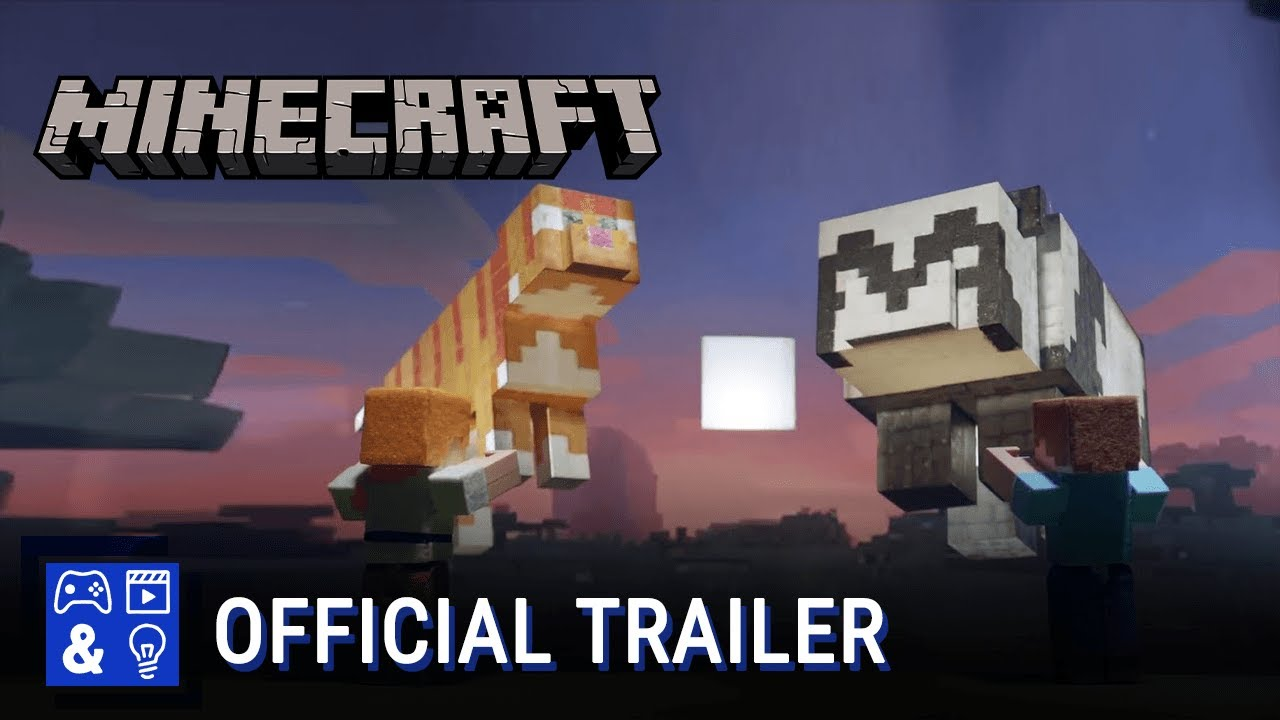 Minecraft Cats & Pandas Update X018 Trailer - YouTube