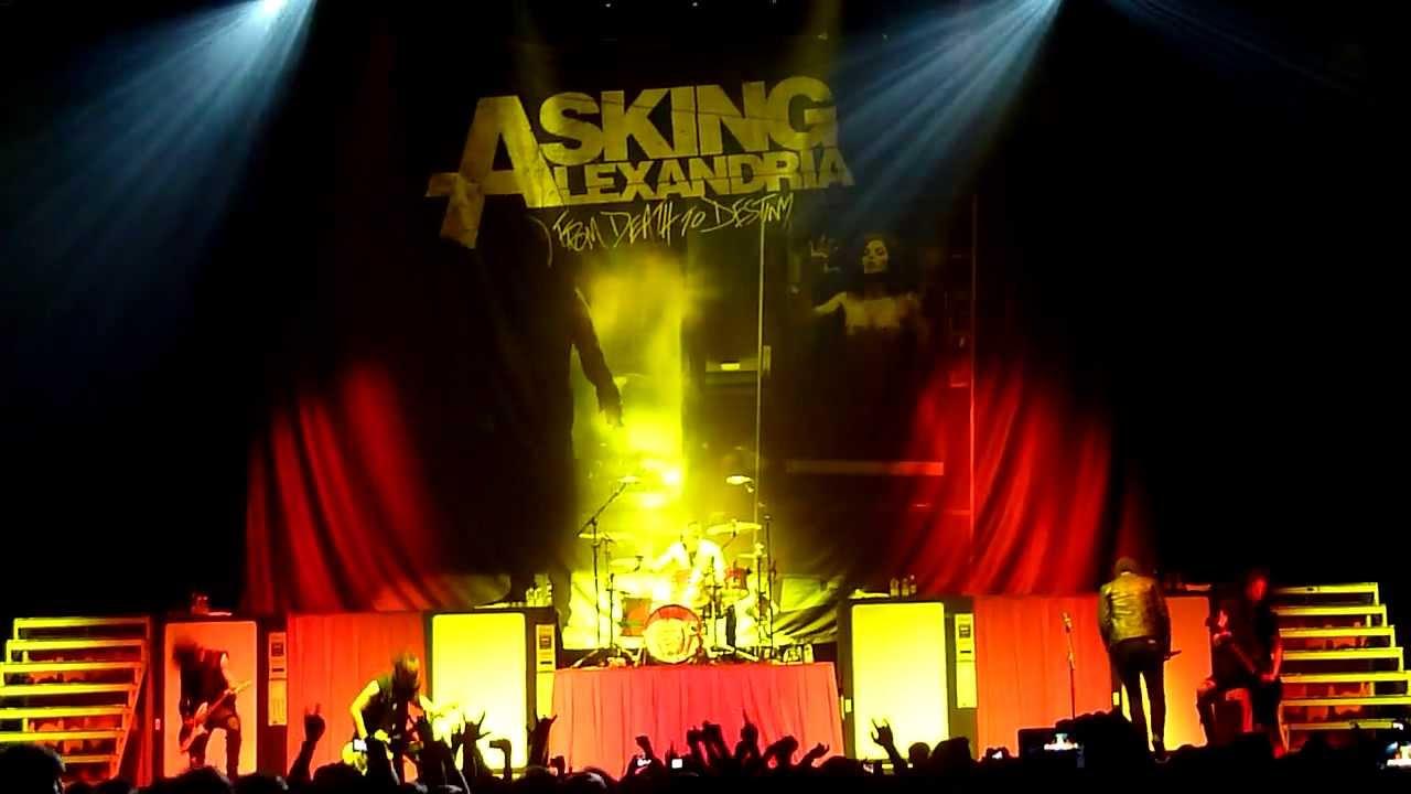 Asking Alexandria Entrance Dont Pray For Me Live