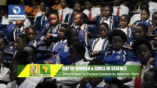 S/A Minister Urges Girls To Pursue Career In Science And Technology |Network Africa|