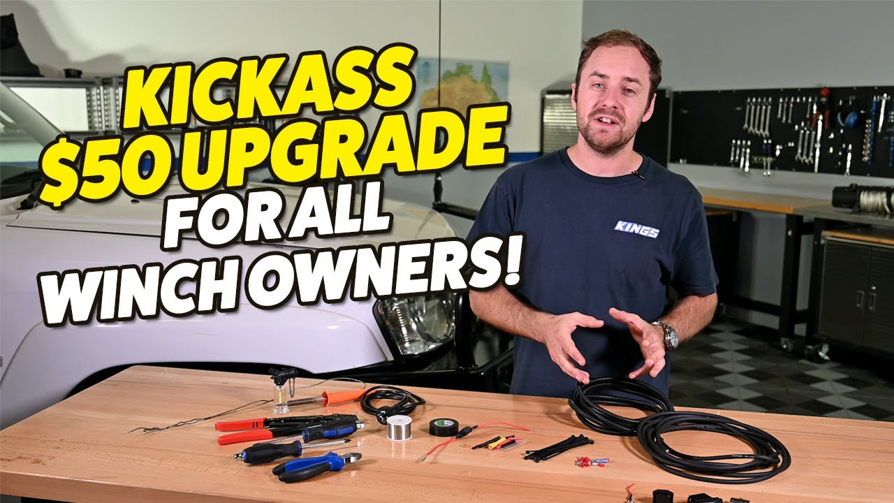 Ultra Easy In Cab Winch Controls The Perfect Winch Upgrade For Any 4wd Youtube