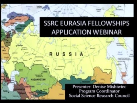 Eurasia Program Fellowship Application Webinar