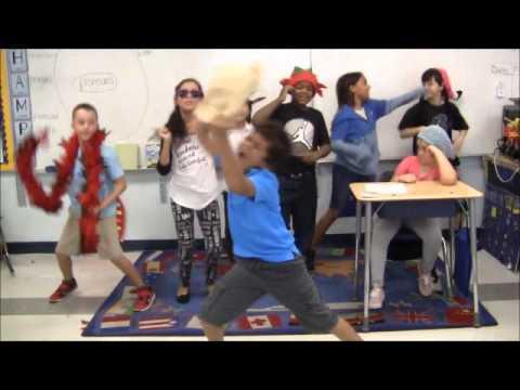 Palm Pointes 3rd Grade Fsa Pep Rally 2015 2016 Youtube