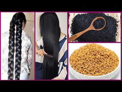 How To Grow Long and thicken Hair Naturally and Faster | Magical Hair Growth Oil 100% Works