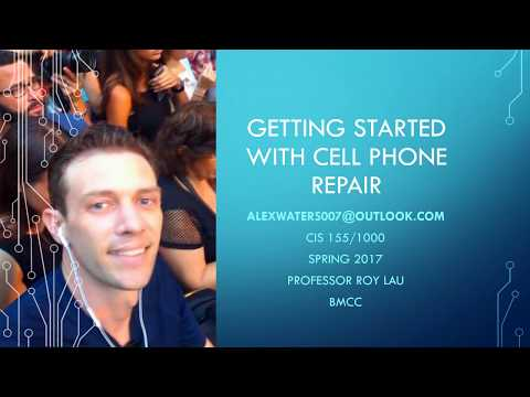 The Basics On Cell Phone Repair