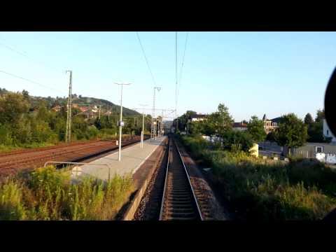 Führerstandsmitfahrt: Dresden Hbf - Radebeul - Naundorf