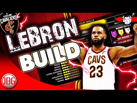 2f7aaf54933 NBA 2K18 LeBron JAMES ARCHETYPE FOR MyCAREER ! - NBA 2K18 My career Tips by  JackedBillGaming