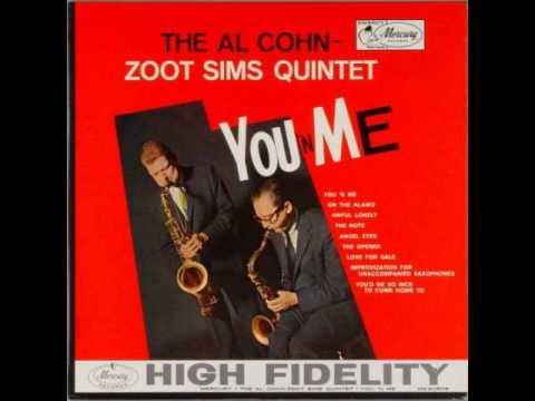 The Al Cohn Zoot Sims Quintet - Angel Eyes