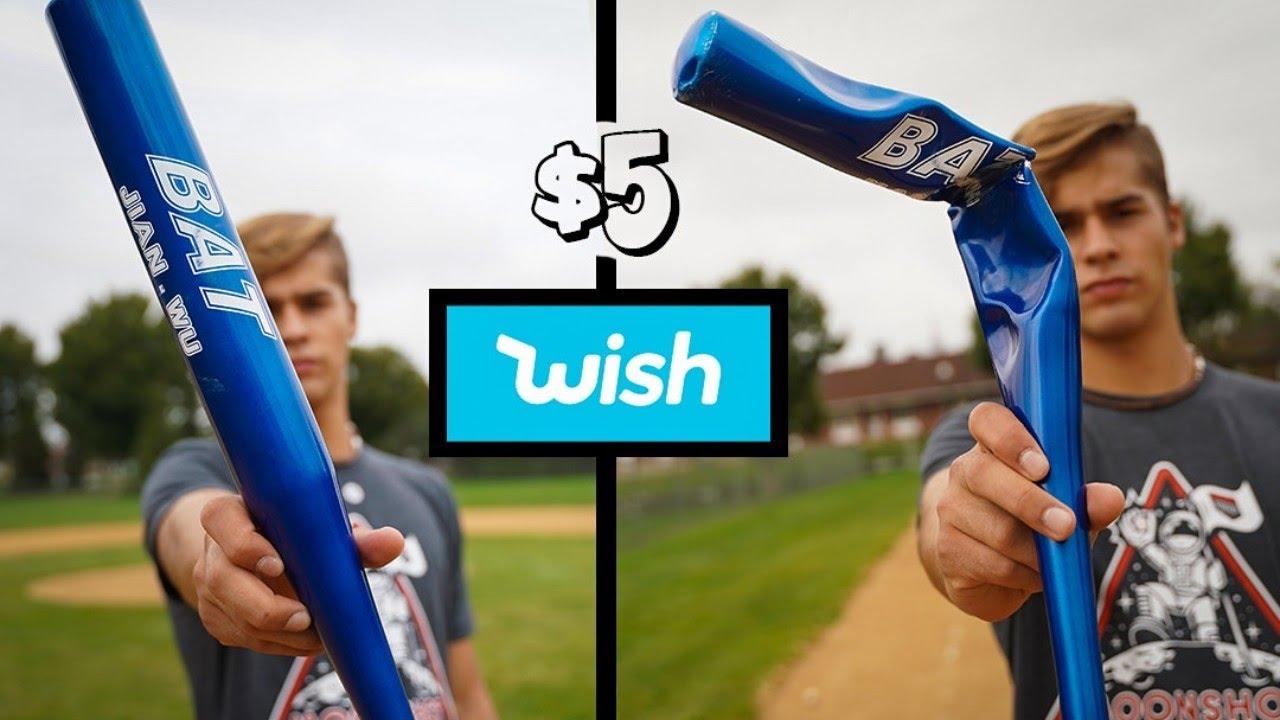 I Bought the Cheapest Baseball Bat on Wish.com ($5)