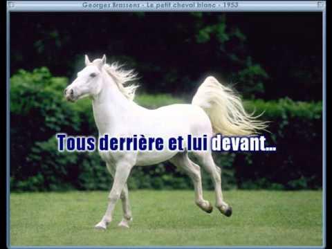 Petit cheval blanc karaoke
