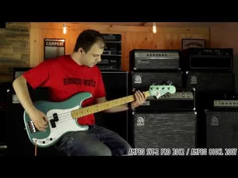 Classic Ampeg Bass Stack Shootout