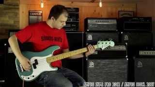 Classic Ampeg Bass Stack Shootout