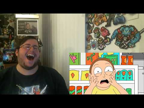 Gors Bushworld Adventures Rick and Morty Short Reaction (w/ Yolo 1 and 2 Reaction)