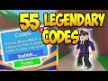 55 LEGENDARY ROBLOX MINING SIMULATOR CODES