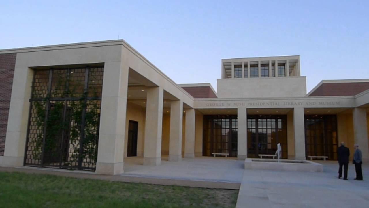 George W Bush presidential library Dallas Texas YouTube