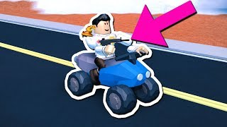 DRIVING WHILE SHOOTING JAILBREAK GLITCH!! (Roblox)