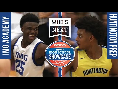Huntington Prep (WV) Vs. IMG Academy (FL) - ESPN Broadcast Highlights