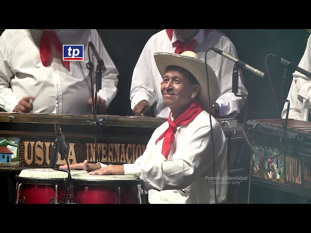 Dubis Oviedo, Jorge Duarte, Abraham Saenz, Marimba Usula - Premios Identidad TeleProgreso (2019)