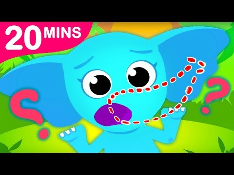 Did You See My Trunk? | Ellie the Elephant Lost Her Trunk Sing Along by Little Angel