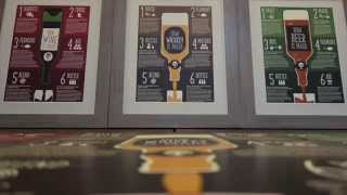 How Whiskey, Wine, & Beer Are Made Posters (78 Degrees Kickstarter Video)