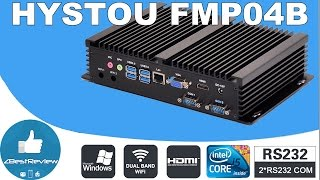 ✔ Мини Компьютер HYSTOU FMP04B, Core-i3-4010U, 4G+64G, SSD, Gearbest!