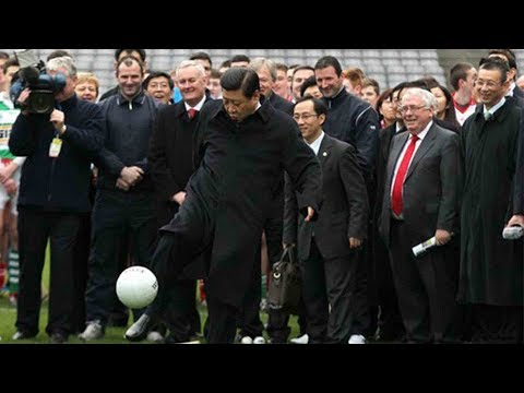 Goal for Xi as China sets sights on World Cup hosting