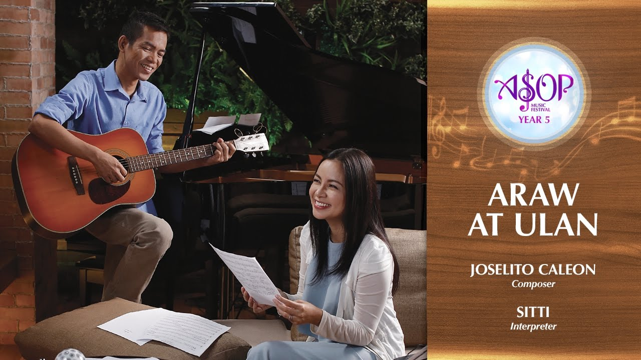 Asop 5 Finals Sitti Performs Araw At Ulan By Joselito Caleon