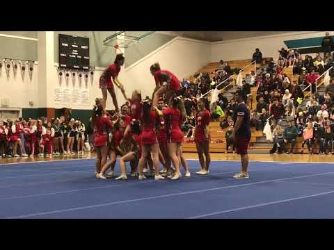 Cupertino Cheer @ USA Jan 2018