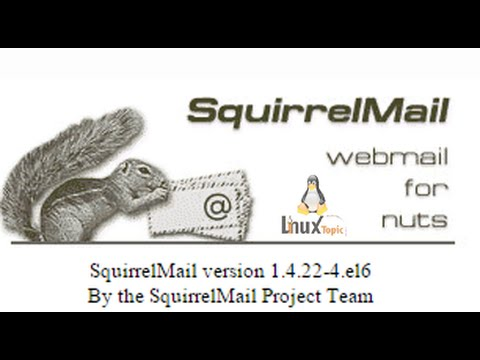 squirrelmail configuration