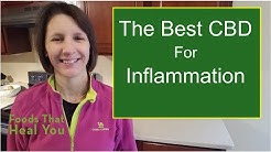 Best CBD Oil for Inflammation [2020]