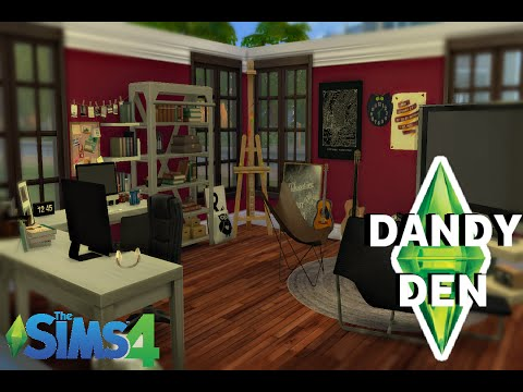 The Sims 4 Dandy Den Room Build