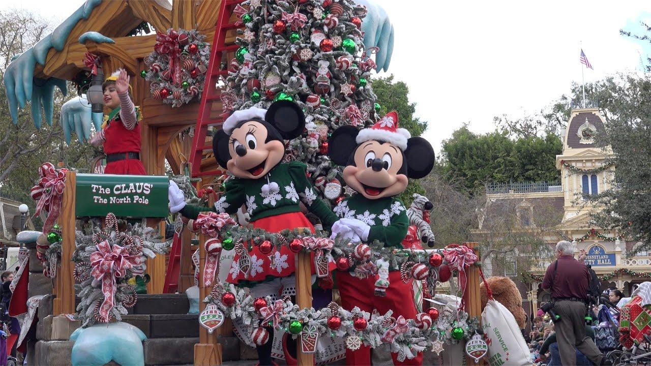 ºoº カリフォルニア ディズニーランド クリスマスファンタジーパレード
