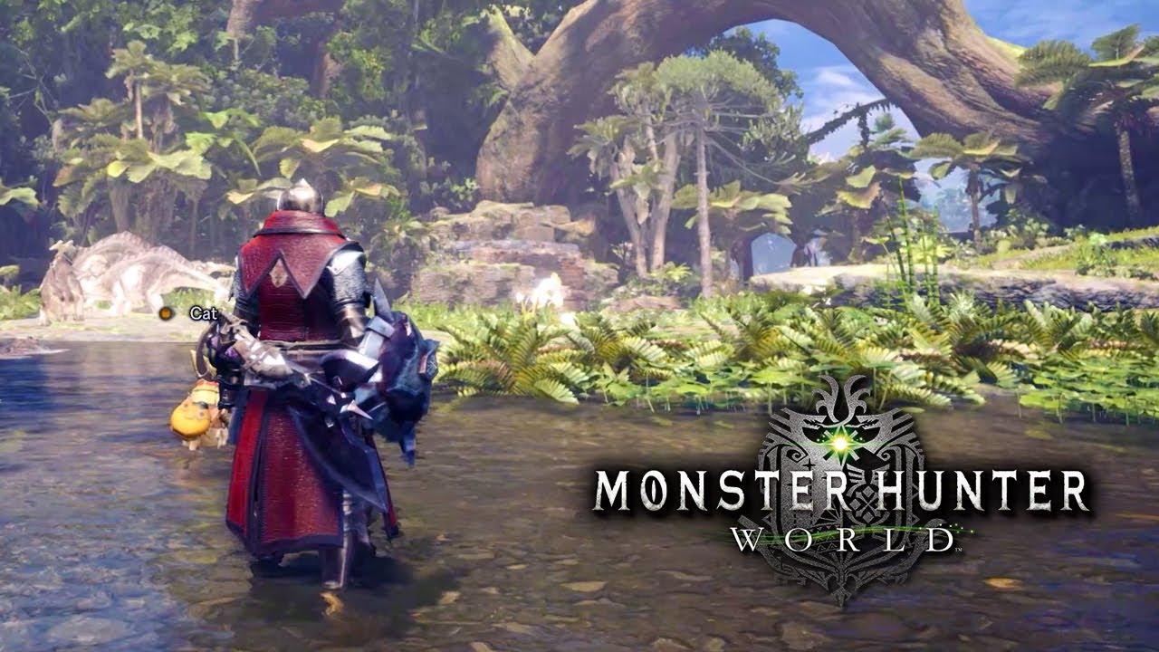 Returning to Monster Hunter World In Ultra Wide