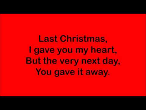 lyrics last christmas wham - Wham Last Christmas Lyrics