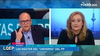 Elisa Beni, sobre Cifuentes, Casado, el PP y la URJC