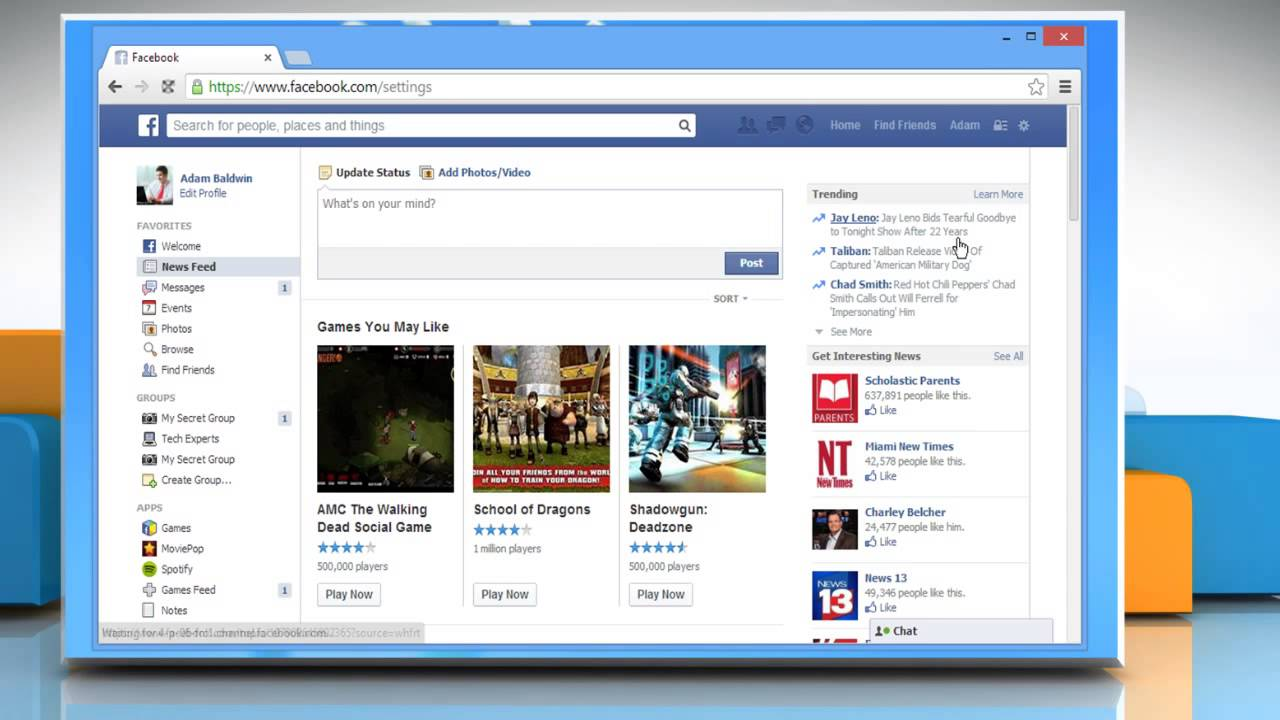 How to remove apps from facebook