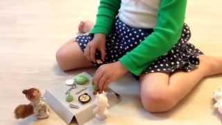 Sylvanian Families Kitchen Cooking Set 실바니안 쿠킹 세트 장난감 놀이 주방 요리 라임튜브