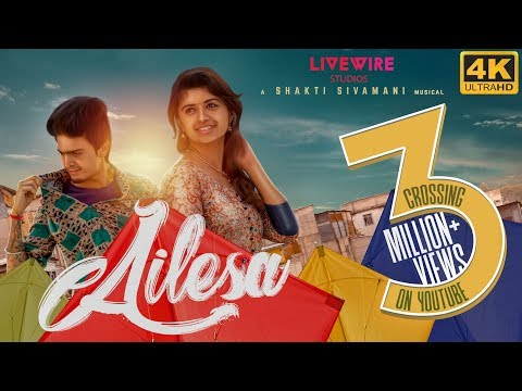 Ailesa - Official Music Video - 4K | Balaji Radhakrishnan, Harija | A Shakti Sivamani Musical: Download The Track! ❤️ ↪︎ https://goo.gl/NNURKp  Don't we all have that one crush thats just out of your league?  Well we have something to say about it! Here we are with #Ailesa , and its here to kickstart pongal! ❤️  With all your love and support here we are celebrating a fun-filled entertainer thats gonna keep your playlists occupied for a while! 💯  Directed, Composed & Sung by Shakti Sivamani https://www.facebook.com/shakti.sivamani https://www.instagram.com/shakti_sivamani/?hl=en  Lyrics : Sargunam & Shakti Sivamani https://www.facebook.com/sargunam.sargunam  Choreographed & Performed by Balaji Radhakrishnan https://www.facebook.com/balaji.jass https://www.instagram.com/balaji_radha_krish/?hl=en  Featuring Harija R https://www.facebook.com/HarijaOfficial/  Cinematography & Editing : Yuvan Selva https://www.facebook.com/u1selva https://www.instagram.com/yuvanselva  Art : Satheesh Sivan  Stills : Tarun Ramesh https://www.facebook.com/tarun.ramesh.3 https://www.instagram.com/tarun_ramesh/?hl=en  Costumes : Dhanya Mahesh  Mix Master : Stanley Xavier https://www.facebook.com/stan.xavier.5 https://www.instagram.com/iamstanley_/?hl=en  DI Colorist : Yuvan Selva https://www.facebook.com/u1selva https://www.instagram.com/yuvanselva  Associate Director : Aravind Aj https://www.facebook.com/aravind.sahara?ref=br_rs https://www.instagram.com/thisis_a6/?hl=en  Associate Cameraman : Abi AdVik https://www.facebook.com/abishake.tuty https://www.instagram.com/abiadvik/?hl=en  Produced By :- Livewire Studios Facebook - https://www.facebook.com/livewirestud... Twitter - https://twitter.com/LiveWire_Studio Instagram - https://www.instagram.com/livewirestu... Official Website - http://www.livewirestudios.in/  Shakti Sivamani - Facebook - https://www.facebook.com/shakti.sivamani Twitter - https://twitter.com/Shakti_Sivamani Instagram - https://www.instagram.com/shakti_siva...