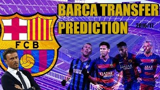 Fc barcelona transfer & squad prediction 2016/17 season! who to buy sell?